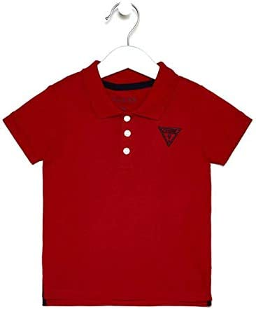 Guess SS - Polo Core Rojo 24 Meses: Amazon.es: Ropa y accesorios