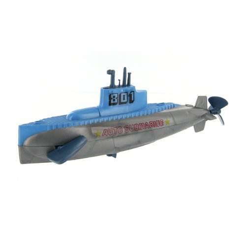 Castle Toy Automatic Diving Wind Up Submarine ()