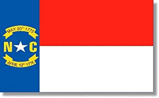 product image for 4x6' North Carolina 2ply Polyester State Flag