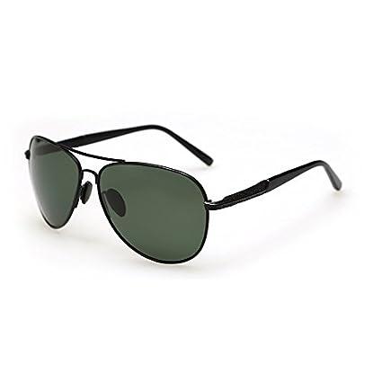 TL-Sunglasses Gafas de Sol polarizadas Guía piloto Hombres Polaroid Gafas de Sol Hombre,