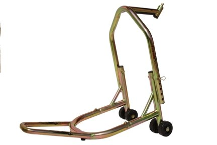 (T-Rex Racing Galvanized Front Triple Tree V Motorcycle Stand)