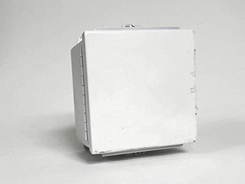 (Wiegmann BN4060604CH NEMA 4 JIC Box Continuous Hinge, Steel, 6