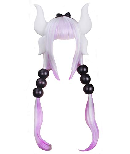Ainiel Women's Anime Cosplay Wigs with Accessories Headband Tails for Halloween Cosplay -