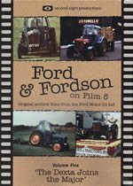 FORD & FORDSON ON FILM Volume 5 The Dexta Joins The Major -  DVD