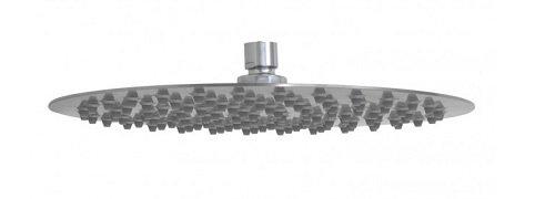 "Price comparison product image Barclay 5622-SB Resia 16"" Ultra Thin Rain Head"