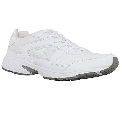 BATA White School Shoes for Men (9