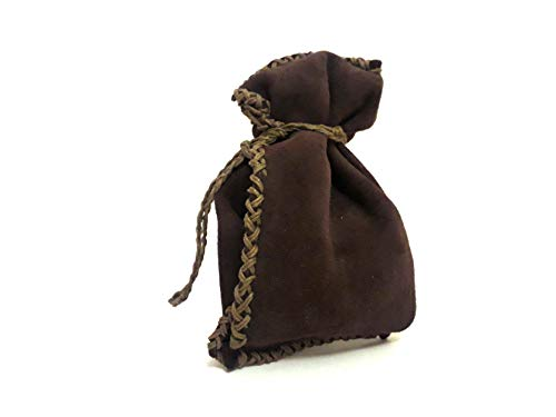 DMT : Dark Mocca Tan : Leather Pouch