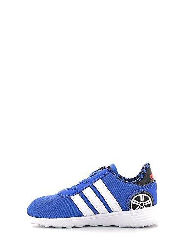 adidas LITE RACER INF - Zapatillas deportivaspara niños, Azul - (AZUL/FTWBLA/ROJSOL), 26