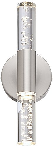 Natalya Bubble Acrylic Tube 13 Quot High Led Wall Sconce Buy