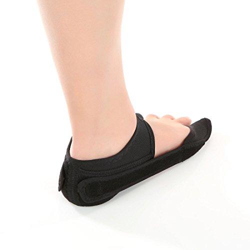 Aider Bunion Support, Comprehensive Bunion Corrector & Bunion Relief ToePal kit-5 Piece Hallux Valgus & Bunion Pads, Toe Spacers, Toe Separators, Bunion Splint, Toe Straightener (Left (black)) by Aider (Image #1)