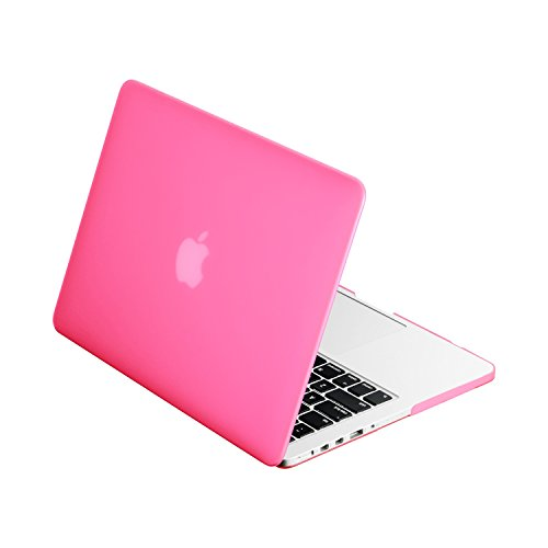 Top Case Rubberized Hard Case Cover for Apple