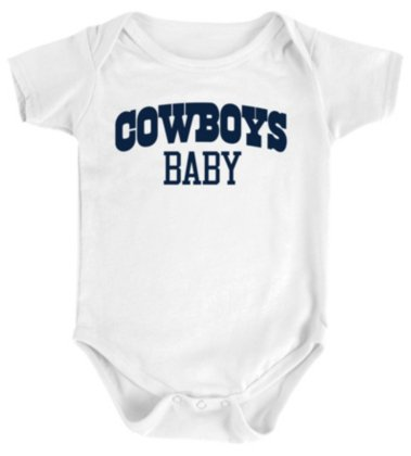 the latest 13d4a 812a3 Dallas Cowboys Infant Cowboys Baby Bodysuit