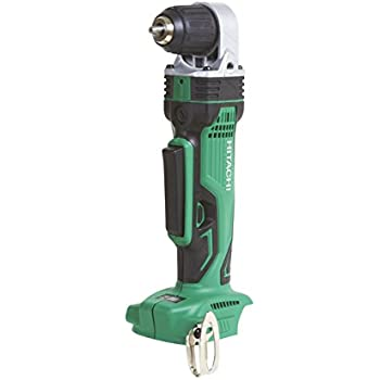 Hitachi DN18DSLP4 18 Volt Cordless Lithium-Ion 3/8-Inch Right Angle Drill (Tool Only, No Battery)