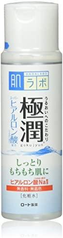 Hada Labo Rohto Hadalabo Gokujun Hyaluronic Lotion Moist, 5.7 fl. oz. (170ml)