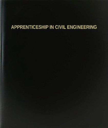 BookFactory® Apprenticeship In Civil Engineering Log Book / Journal / Logbook - 120 Page, 8.5