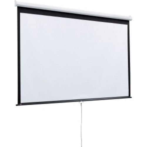 (Luma Matte White Manual Projection Screen Viewing Area: 70
