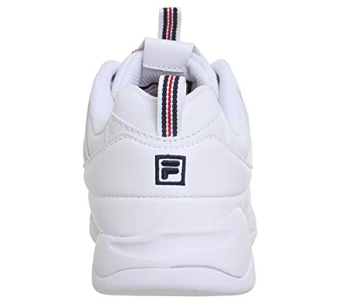 Fila Ray rosso Navy marina Donna Bianco Sneaker White Red rgdwBrq