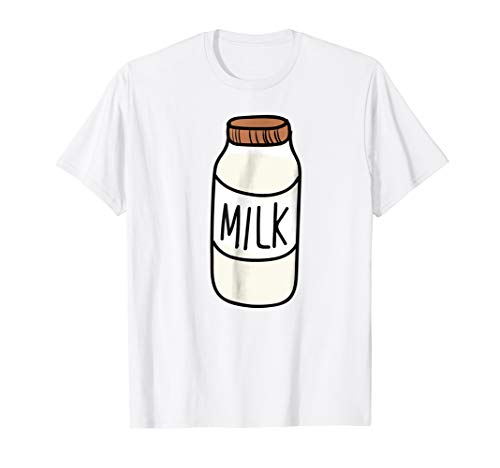 Milk Bottle shirt Cup of Milk | Milk Lover christmas -