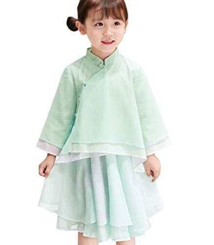 Green T Acvip Uni Manches Fille Longues shirt À rd6x6w10qn