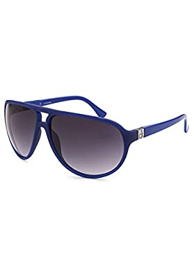 Calvin Klein 3154S-285 Aviator Blue Sunglasses