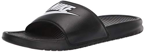 Nike Men's Benassi Just Do It Athletic Sandal, Black, 11 D(M) US
