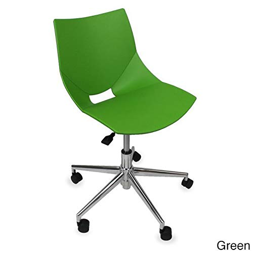 GloDea Shell Office Chair, Green
