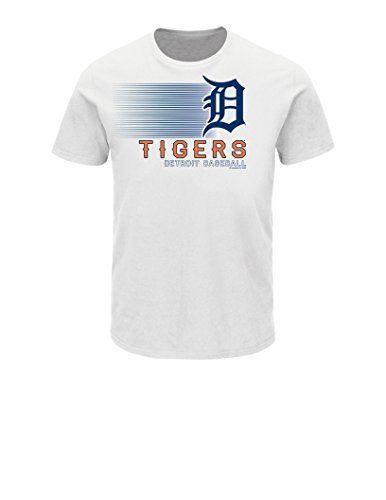 VF LSG MLB Detroit Tigers Men's Notable Splurge Jersey, White, - Jersey White Detroit Tigers