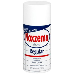 Noxzema Shave Cream Regular (Pack of 3) by Marble Medical