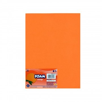 Orange Craft Foam Sheets (Pack of 6)