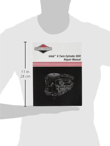 amazon com briggs stratton 273521 intek v twin ohv repair manual rh amazon com Intek 17.0 HP Engine Intek 17.0 HP Engine