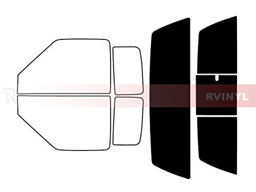 Rtint Window Tint Kit for Chevrolet S-10 1994-2003 (2 Door) - Rear Windshield Kit - 5%