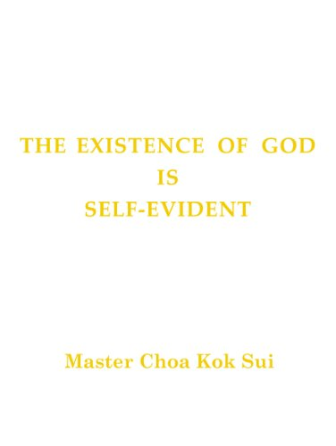 The Existence of God is Self-Evident