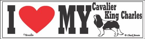 I Love MyCavalier King Charles Bumper Sticker