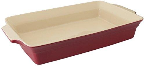 Large Casserole Dish - Berghoff Geminis Rectangular Baking Dish, Red