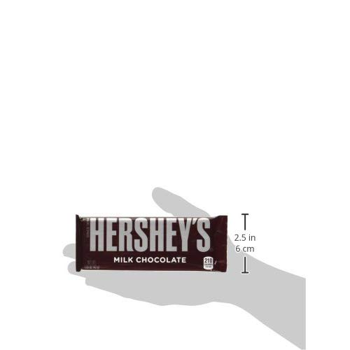 HERSHEY'S Milk Chocolate Candy Bars, 1.55-oz. Bars, 36 Count by HERSHEY'S (Image #10)