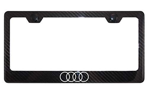 quattro black license plate frame - 9