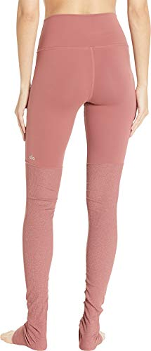 ALO Women's High Waisted Goddess Leggings Rosewood X-Small 33 by ALO Sport (Image #2)