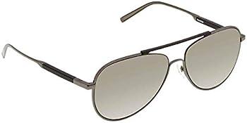 Salvatore Ferragamo Grey Square Men's Sunglasses