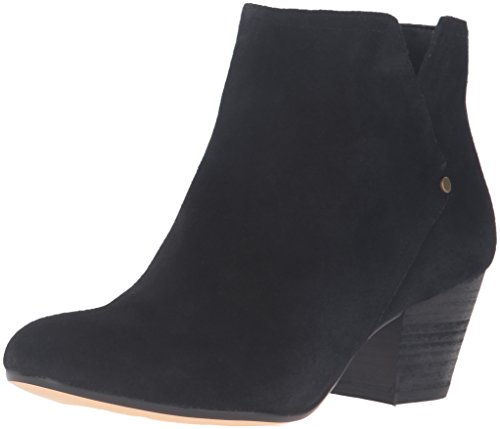 Nine West Women's Hadriel Ankle Bootie, Black Suede, 8 M US