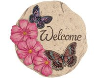 Carson Home Accents CHA11115 Decor Stepping Stone Butterfly