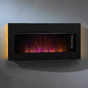ClassicFlame Serendipity Infrared Wall Hanging Fireplace Heater