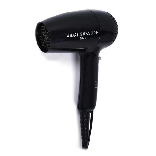 Vidal Sassoon Vsdr5523 1875w Stylist Travel Dryer, Black