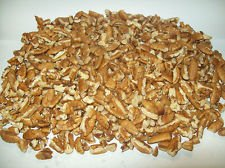 Chopped Pecan Pieces (30lb Bulk Medium Pieces) by Purvis Pecan Company