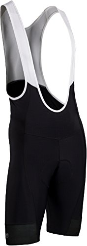 SUGOi Evolution Bib Shorts, Black, Large (Mens Bib Evolution Cycling)