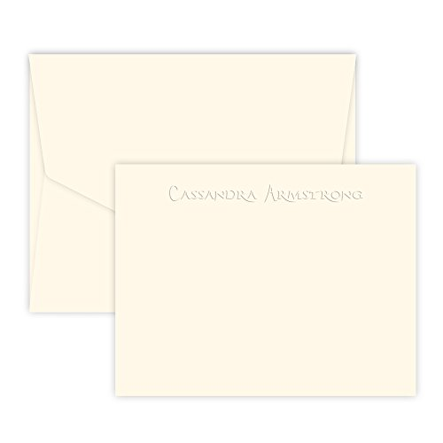- Copperpoint Card - Embossed (Ivory)
