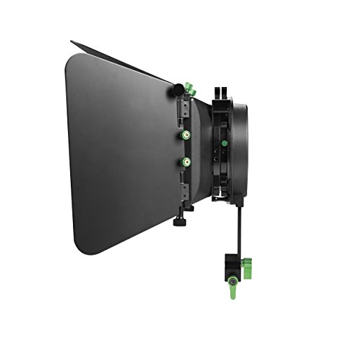 IMORDEN Aluminum M3 Matte box for DSLR and Video Camera Shoulder Support Rig M dp500 with Detachable Blades for 15mm Aluminum Rods(Adjustable height:up to 70mm) by IMORDEN