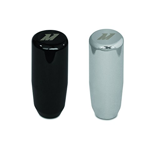(Mishimoto Silver MMSK-SL Weighted Shift Knob)