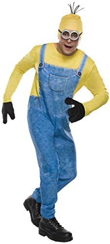 Easy Minion Costume (Rubie's Men's Movie Minion Costume, As As Shown,)