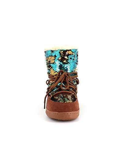 Nubuck Leni Girly Boots D'azur Cassis Cote Camel w6q8Ffw