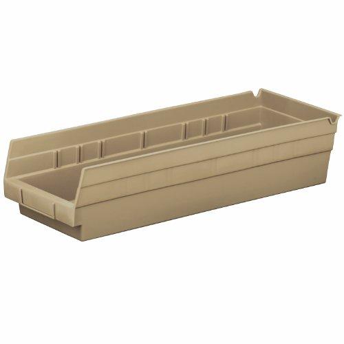 Akro Mils 18 Inch Plastic Nesting Sandstone